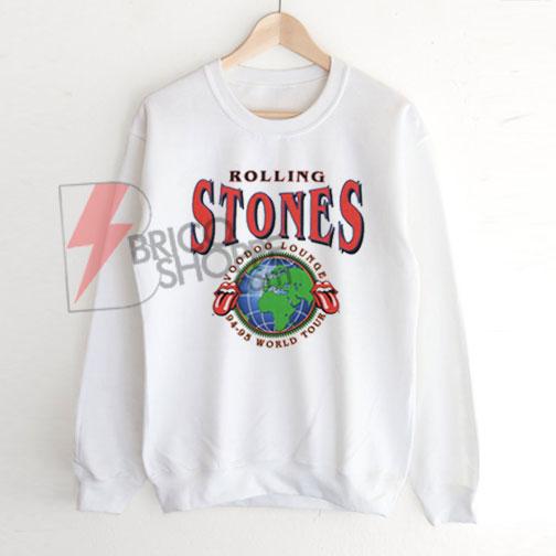 Rolling Stones Voodoo Lounge World Tour Sweatshirt