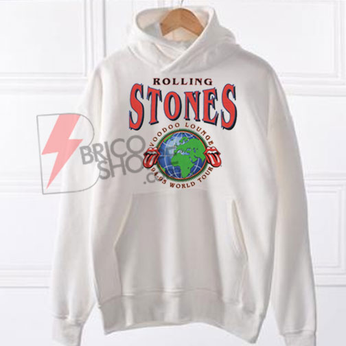 Rolling Stones Voodoo Lounge World Tour hoodie On Sale
