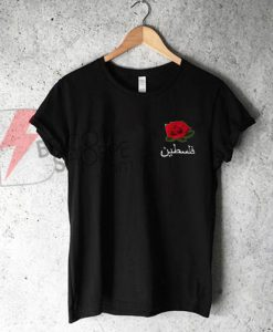 Roses-with-Arabic-text-Shirt-On-Sale