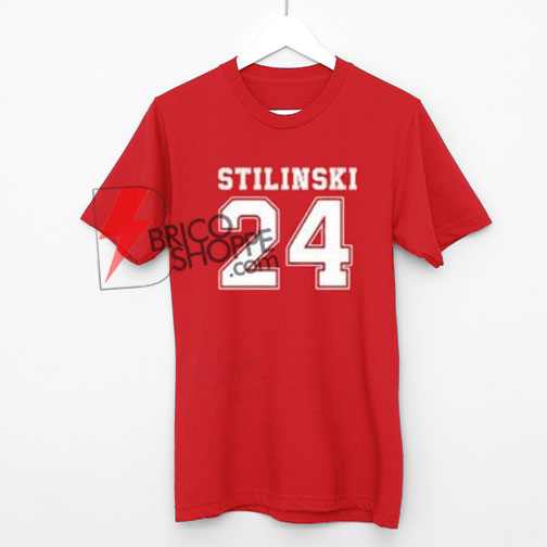 STILINSKI 24 T-Shirt, the vampire diaries Shirt On Sale, Cool and Comfy Shirt