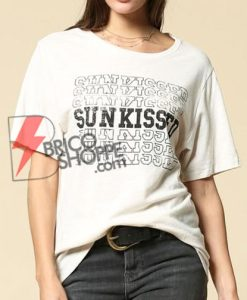 SUN KISSED T-Shirt On Sale