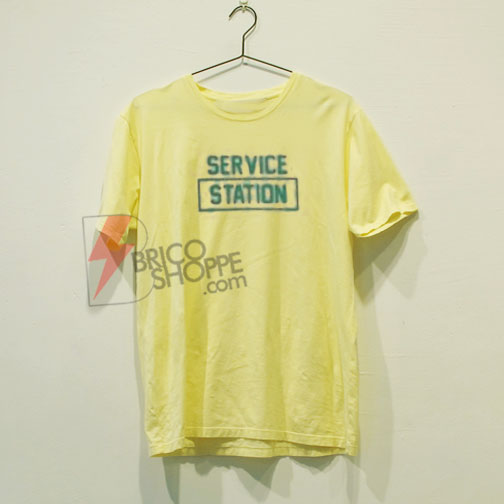 Service Station Shirt On Sale, Cute and Comfy Shirt, Funny Shirt On Sale