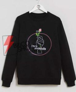 Two Moods Sweatshirt On Sale