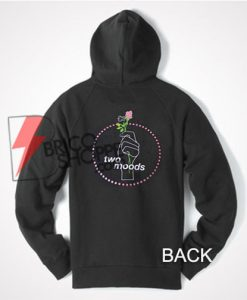 Two moods Hoodie, Cool and comfy Hoodie