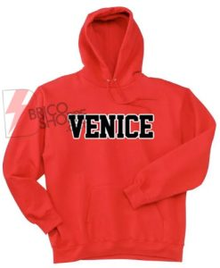 Venice Red Hoodie On Sale