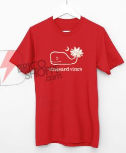 Vineyard Vines Red T-Shirt On Sale
