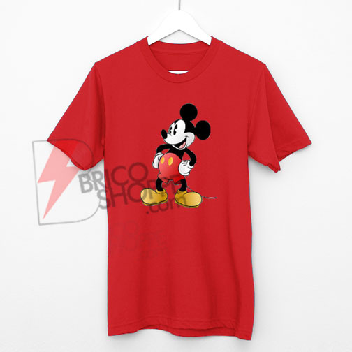 Vintage Mickey Mouse T-Shirt On Sale, Cute and Comfy Shirt On Sale, Disney Shirt On Sale