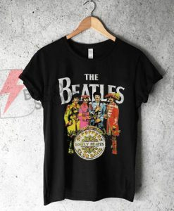 Vintage The Beatles St Peppers T-Shirt On Sale