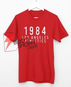Los Angeles Athletics 1984 Style T-Shirt On Sale