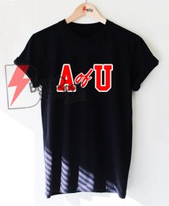 A of U T-Shirt On Sale