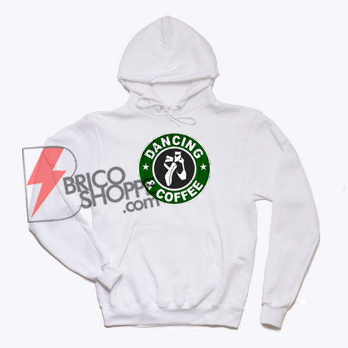 DANCING AND COFFEE Hoodie On Sale