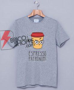 Espresso Patronum Funny Harry Potter Shirt, Harry potter T-Shirt
