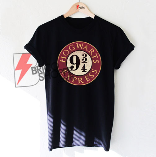 12f45815 Hogwarts Express 9 3 4 , Harry Potter T-Shirt On Sale - bricoshoppe.com