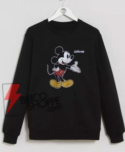 Mickey Mouse California Sweatshirt On Sale