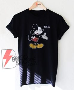 Mickey Mouse California T-Shirt On Sale