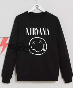 NIRVANA Sweatshirt On Sale