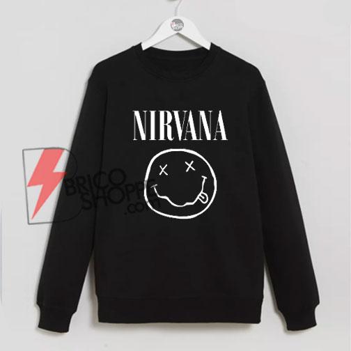 NIRVANA Sweatshirt On Sale