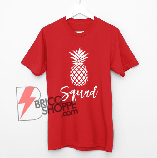 Squad-with-Pineapple-T-Shirt,-Pineapple-Bridal-Shirt