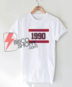 Star 1990 Number T-Shirt On Sale