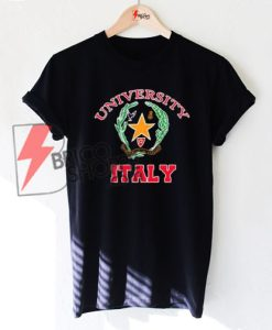 University Italy T-Shirt On Sale