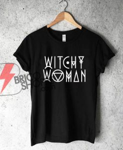WITCHY WOMAN T-Shirt on Sale, Halloween Shirt On Sale