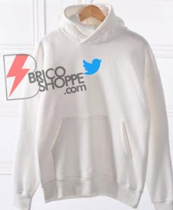 twitter Logo Hoodie Shirt On Sale