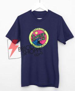 Beach Club Swells n Myrtle Beach T-Shirt On Sale