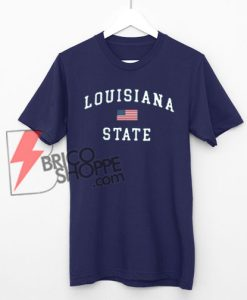 Louisiana State T-shirt On Sale