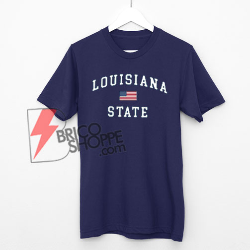 Louisiana State T-shirt On Sale