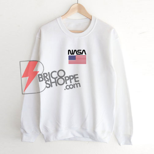 NASA USA Flag sweatshirt On Sale