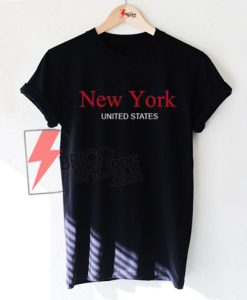 New York United States Shirt On Sale