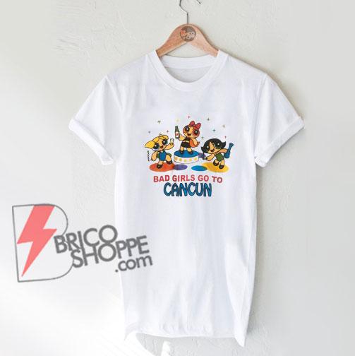Powerpuff-Girls-Cancun-Novelty-T-Shirt-On-Sale