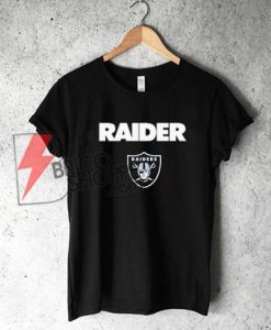 RAIDER T-Shirt On Sale