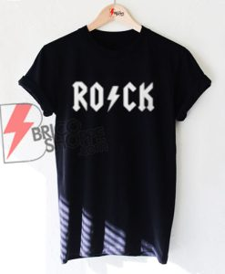 ROCK acdc Style Shirt On Sale