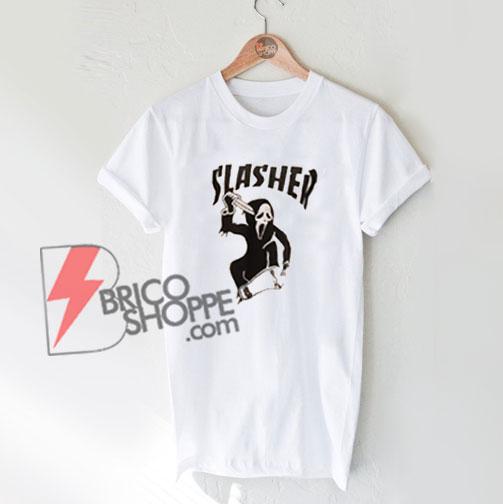 Slasher-T-Shirt-On-Sale