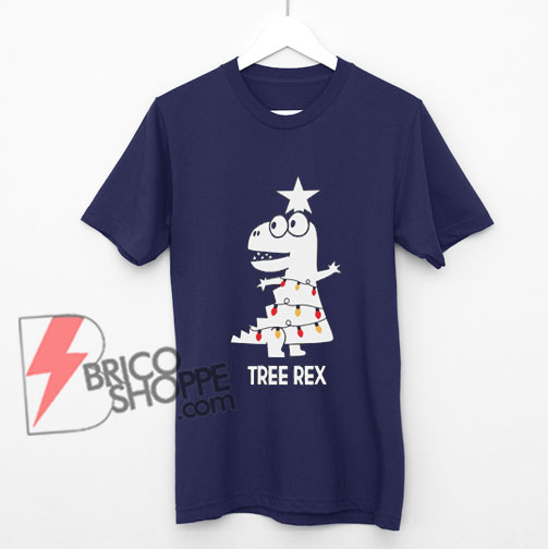 TREE-REX shirt - Christmas shirt - Christmas Gift