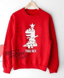 TREE-REX sweatshirt - Christmas sweatshirt - Christmas Gift