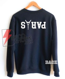 The black Sweatshirt PARIS - PARIS Avicii Sweatshirt On Sale