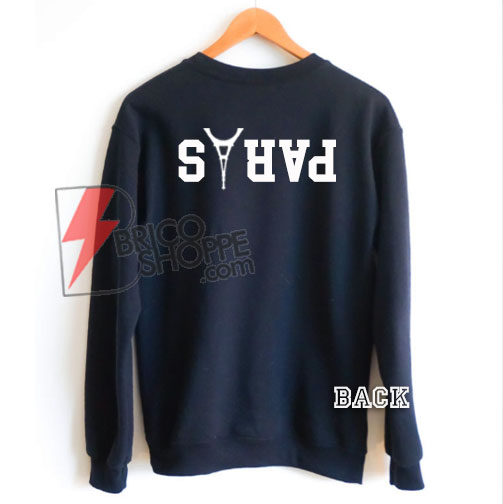 The black Sweatshirt PARIS - PARIS Avicii Sweatshirt On Sale