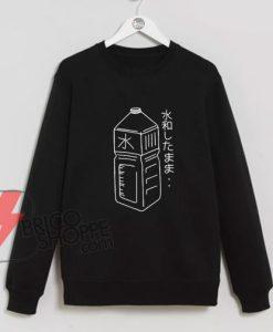 Water-Bottle-Japanese-T-Shirt-On-Sale