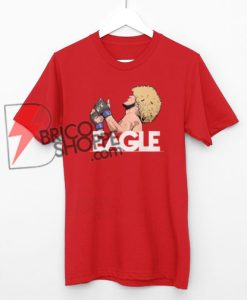 khabib Nurmagomedov The Eagle Russian Ufc Fighter T-Shirt On Sale