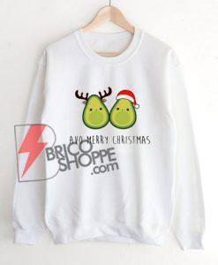 AVO MERRY CHRISTMAS Sweatshirt On Sale