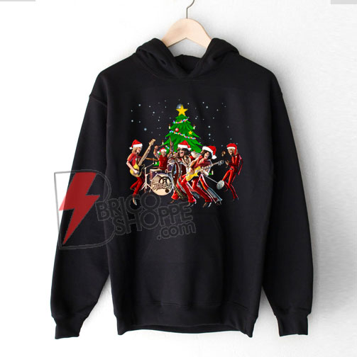 Aerosmith-band-merry-Christmas-Hoodie