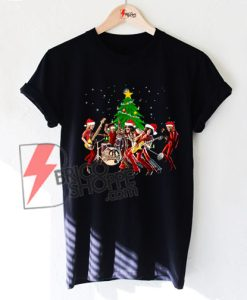Aerosmith-band-merry-Christmas-Shirt