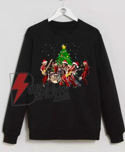 Aerosmith-band-merry-Christmas-Sweatshirt-On-Sale