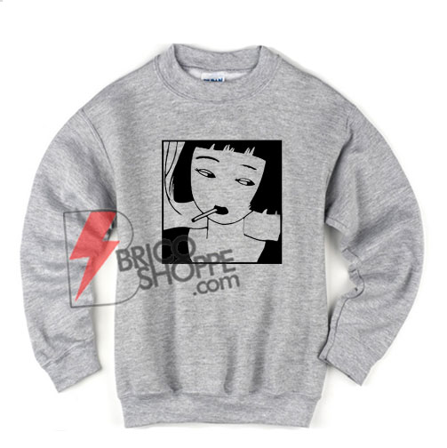 Chinese Smoking Sweatshirt On Sale