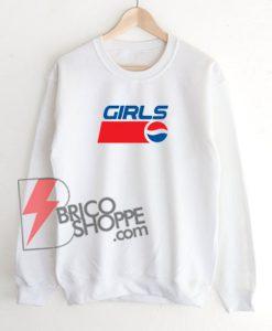 GIRLS-PEPSI-Sweatshirt