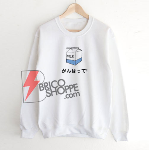 Milk Japanese Sweatshirt On Sale