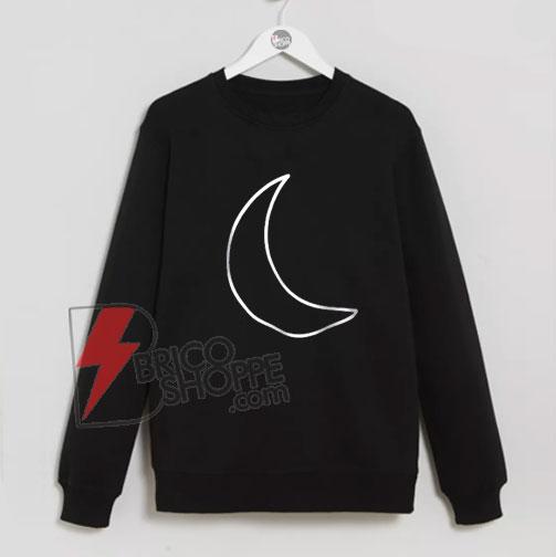 Moon Sweatshirt On Sale