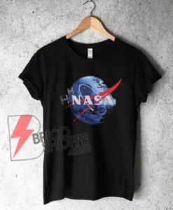 NASA DEATH STAR Star Wars Parody T-shirt
